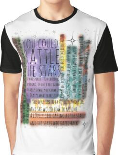 THRONE OF GLASS QUOTES Graphic T-Shirt