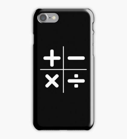 MATH logo iPhone Case/Skin