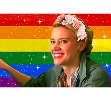 Jillian Holtzmann Gay Flag Photographic Print