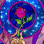 Beauty and The Beast Rose by SaniaRiaz
