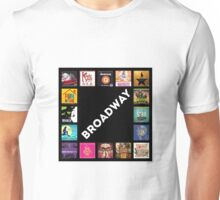 Broadway Collage Unisex T-Shirt
