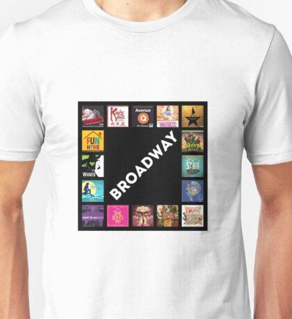 Broadway Collage Unisex T-Shirt