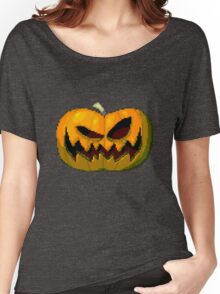 Pixel Pumpkin Women's Relaxed Fit T-Shirt