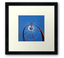 Flying High with the Golden Gate Bridge Framed Print