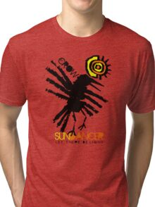 crow sundancer Tri-blend T-Shirt