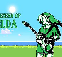 The Legend of Zelda - Guitar Link by Cantavanda