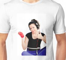 Sports, dumbbells, health Unisex T-Shirt
