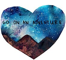 go on an adventure Photographic Print