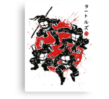 Mutant Warriors Canvas Print