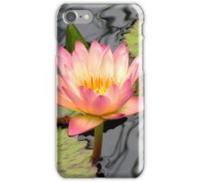 Rainy Day Water Lily iPhone Case/Skin