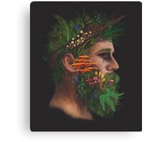 One With Nature   The Woods & Fungi Canvas Print
