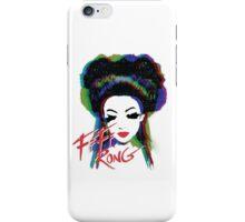 Fifi Rong - designed by Walter Morataya iPhone Case/Skin