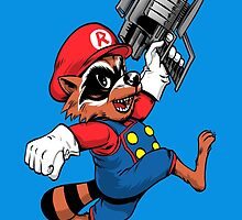 Super Raccoon by nikoby