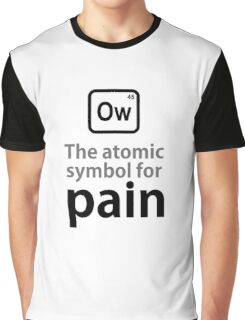 Atomic Symbol for Pain Graphic T-Shirt
