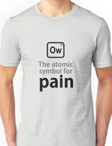 Atomic Symbol for Pain T-Shirt