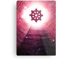 Buddhism (Wheel of Dharma) Metal Print