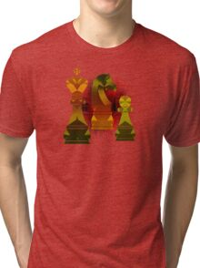 Chess Mate Number One Tri-blend T-Shirt