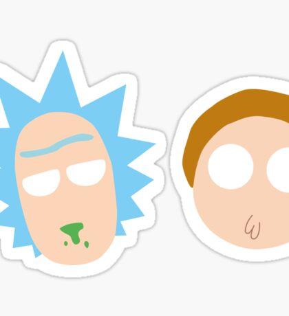 Rick and Morty Pop Art Sticker