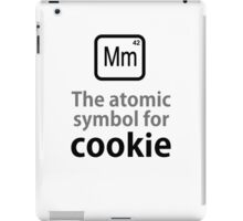 Atomic Symbol for Cookie iPad Case/Skin