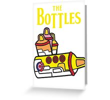 The Bottles  Greeting Card