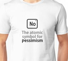 Atomic Symbol for Pessimism Unisex T-Shirt