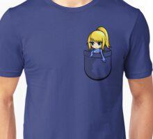 Pocket Zero Suit Samus Unisex T-Shirt