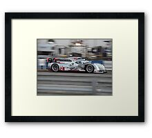 Prototype Sports Car Action Framed Print