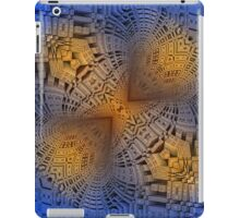 Golden Puzzle KM Blue Hue iPad Case/Skin