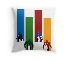 Heroes!! Throw Pillow