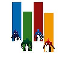 Heroes!! Photographic Print