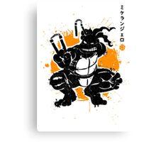 Nunchaku Warrior Canvas Print