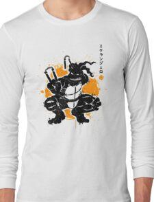 Nunchaku Warrior Long Sleeve T-Shirt