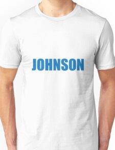Johnson (Blue) Unisex T-Shirt