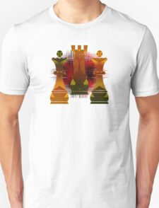 Chess Mate Number Four Unisex T-Shirt