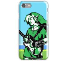 The Legend of Zelda - Guitar Link iPhone Case/Skin