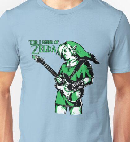 The Legend of Zelda - Guitar Link Unisex T-Shirt