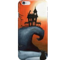 Haunted House on Old Witch Hill iPhone Case/Skin