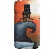 Haunted House on Old Witch Hill Samsung Galaxy Case/Skin
