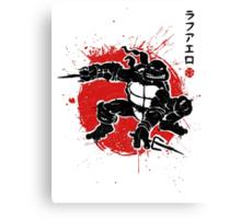 Sai Warrior Canvas Print