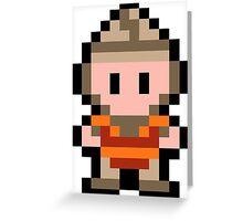 Pixel Dirk the Daring Greeting Card
