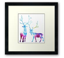 My Deer Universe Framed Print