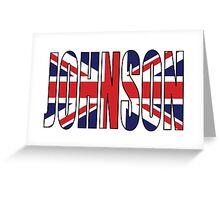 Johnson (UK) Greeting Card
