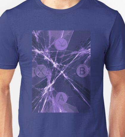 XBox Controller  Violet Unisex T-Shirt
