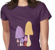 Sunrise Mushrooms Womens Fitted T-Shirt