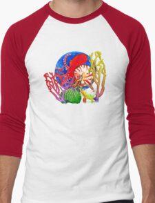 Vibrant Ocean Men's Baseball ¾ T-Shirt