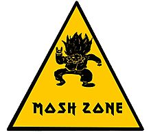 Metal Mosh Zone Photographic Print