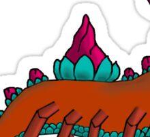 Flower Critter No Background Sticker