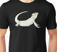 Leucistic Bearded Dragon Unisex T-Shirt