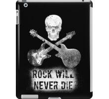 Long live rock n roll iPad Case/Skin