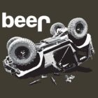 """Funny """"beer"""" 4x4  by robotface"""